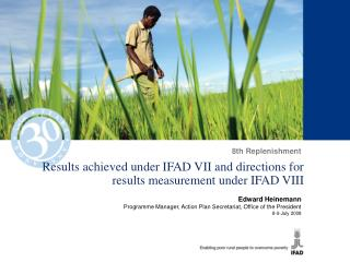 Results achieved under IFAD VII and directions for results measurement under IFAD VIII