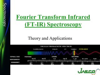 Fourier Transform Infrared  (FT-IR) Spectroscopy