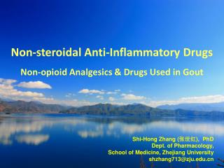 Non-steroidal Anti-Inflammatory Drugs  Non-opioid Analgesics & Drugs Used in Gout