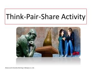 Think-Pair-Share Activity
