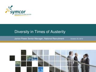 Diversity in Times of Austerity