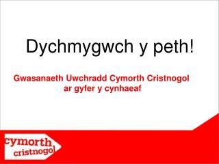 Dychmygwch y peth!