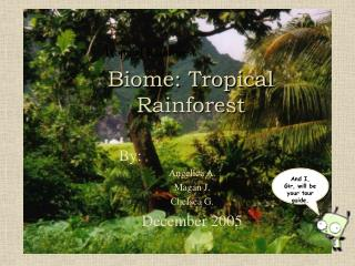 Biome: Tropical Rainforest