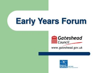Early Years Forum