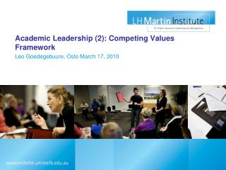 Academic Leadership (2): Competing Values Framework