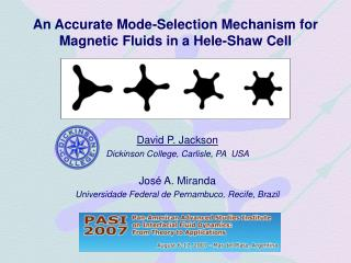 An Accurate Mode-Selection Mechanism for Magnetic Fluids in a Hele-Shaw Cell