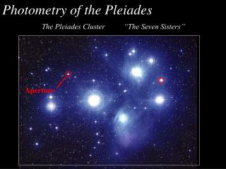 Photometry of the Pleiades