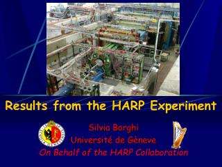 Results from the HARP Experiment