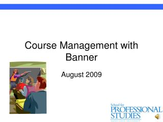 Course Management with Banner