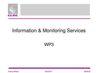 Information & Monitoring Services