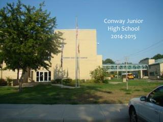 Conway Junior High School 2013- 2014