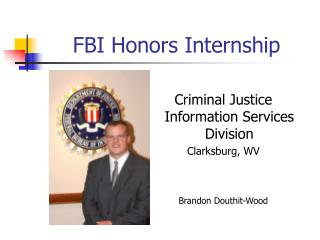 FBI Honors Internship
