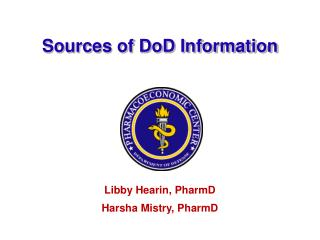 Sources of DoD Information