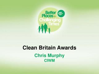 Clean Britain Awards