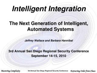 Intelligent Integration The Next Generation of Intelligent, Automated Systems