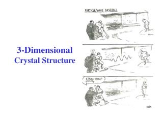 3-Dimensional Crystal Structure