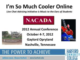 I'm So Much Cooler Online  Live Chat Advising Initiative is Music to the Ears of Students
