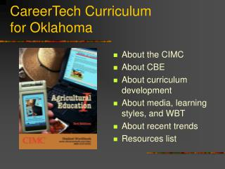CareerTech Curriculum for Oklahoma