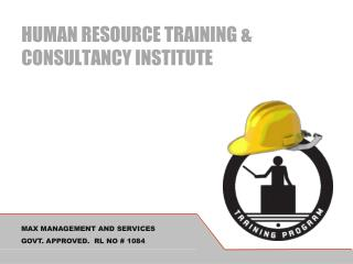 HUMAN RESOURCE TRAINING & CONSULTANCY INSTITUTE