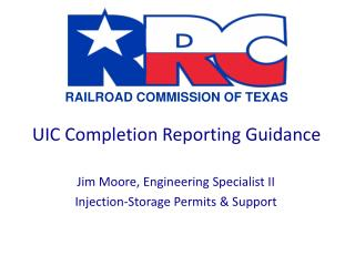 UIC Completion Reporting Guidance