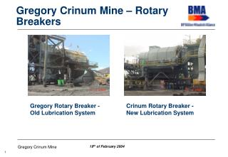 Gregory Crinum Mine – Rotary Breakers