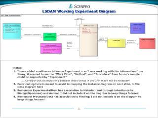 LSDAM Working  Experiment Diagram