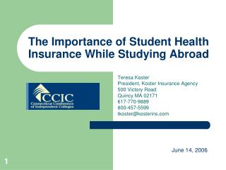 The Importance of Student Health Insurance While Studying Abroad
