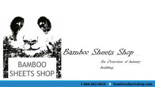 Bamboosheetshop-An Overview of luxury bedding