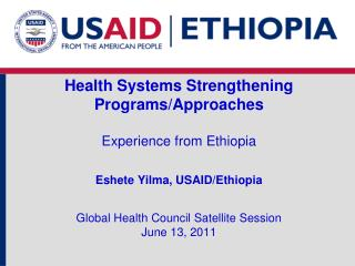 Health Systems Strengthening  Programs
