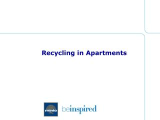 Recycling in Apartments