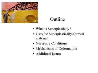 SUPERPLASTICITY