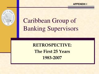 Caribbean Group of Banking Supervisors