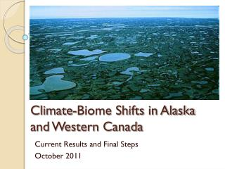 Climate-Biome Shifts in Alaska and Western Canada