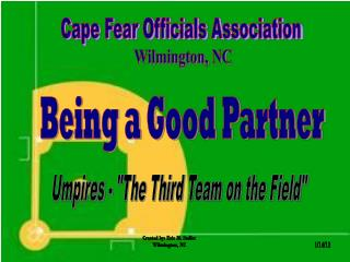 Cape Fear Officials Association