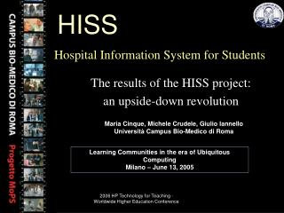 Hospital  Information System for Students