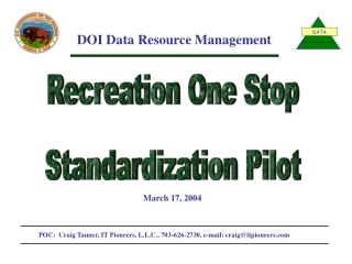 DOI Data Resource Management
