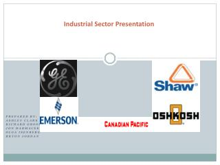 Industrial Sector Presentation