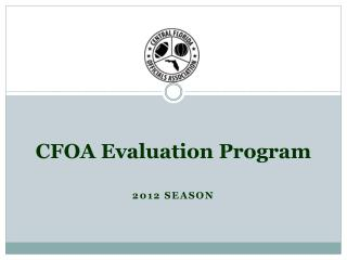 CFOA Evaluation Program