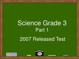 Science Grade 3 Part 1