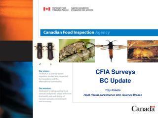 CFIA Surveys  BC Update