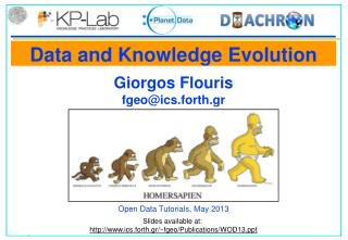 Data and Knowledge Evolution