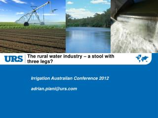 The rural water industry – a stool with  three legs?