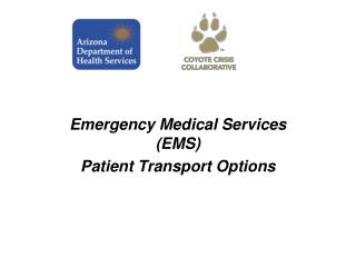 Emergency Medical Services (EMS) Patient Transport Options
