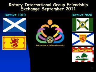 Rotary International Group Friendship Exchange September 2011