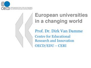 European universities in a changing world