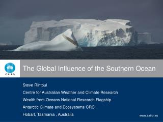 The Global Influence of the Southern Ocean