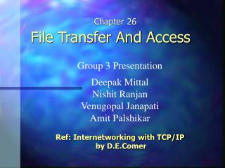 File Transfer And Access