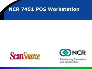 NCR 7451 POS Workstation