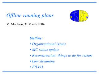 Offline running plans