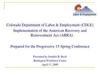 Colorado Department of Labor & Employment (CDLE)